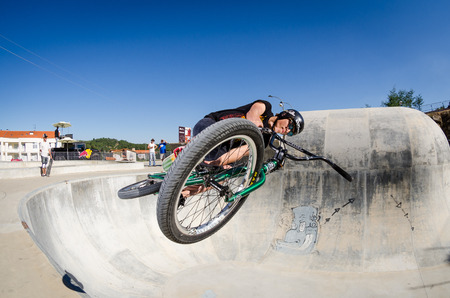 belmonte: BELMONTE, PORTUGAL - JULY 12, 2014  Carlos Iglesias during the The Lost Bowl Event