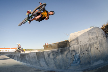 BELMONTE, PORTUGAL - JULY 12, 2014  Carlos Iglesias during the The Lost Bowl Event