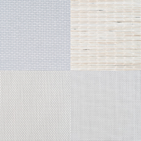 texture background: Set of white vinyl samples, texture background.