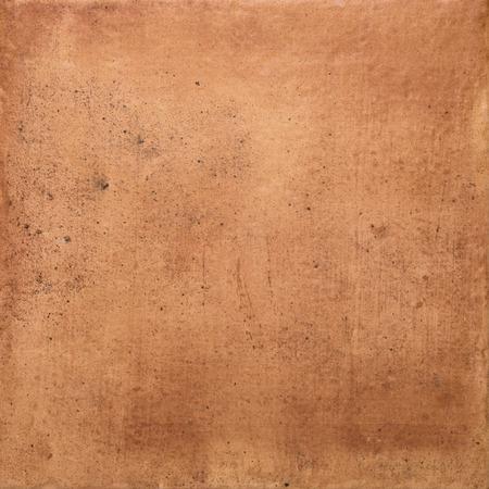 ocher: Closeup detail of a ocher stone wall background. Stock Photo