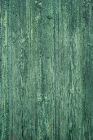 constructional: Green painted wood old aged texture.