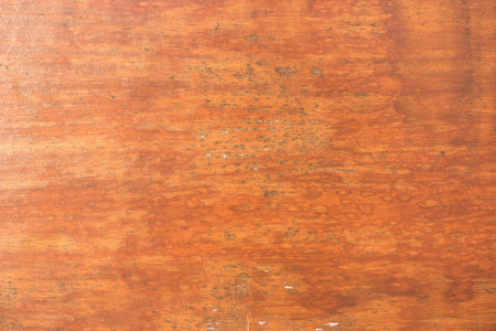 and worn out: Cracked weathered brown painted wooden board texture.