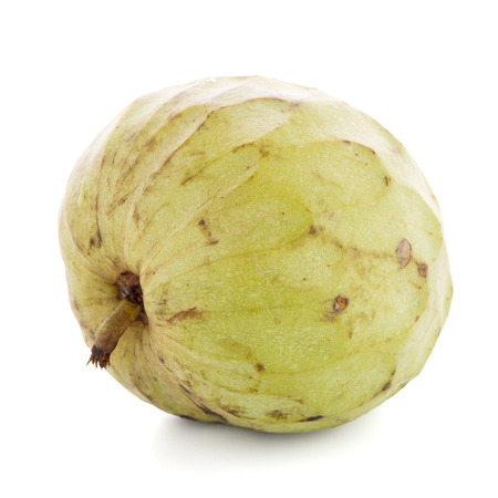 anona: Fresh Custard Apple isolated on white background