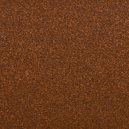 Closeup detail of copper metal texture background. Stock Photo