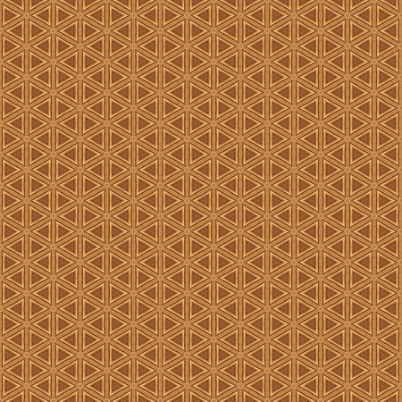 Geometric abstract pattern. Background design in woody colors Stock Photo
