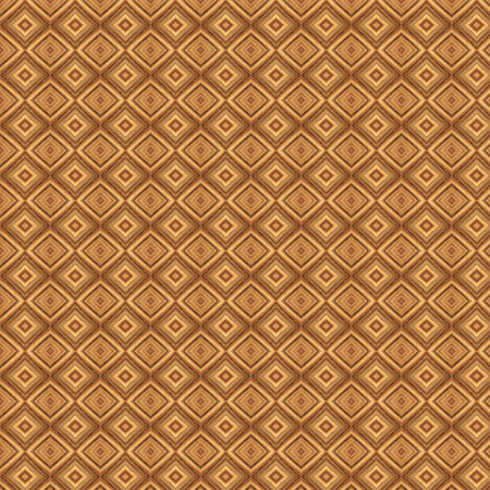 tawny: Geometric abstract pattern. Background design in woody colors Stock Photo