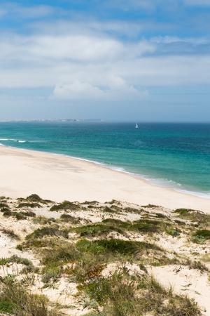 atlantic: Praia Del Rei, Portugal. Portuguese Atlantic coast.