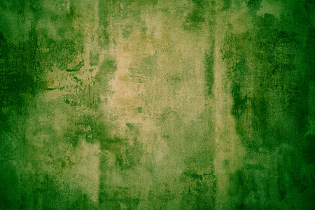 chipped paint: Green grunge chipped paint rusty textured metal
