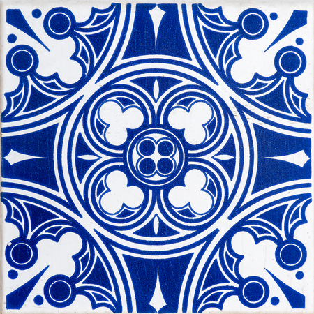 Traditional Portuguese tiles Stock Photo