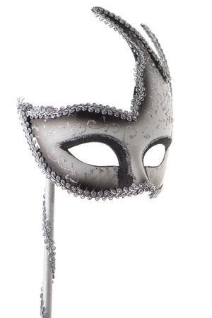 Carnival mask isolated on white background 스톡 콘텐츠