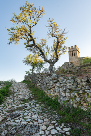 View of Numao Castle. Council of Vila Nova de Foz Coa. Portugal. Douro Region.