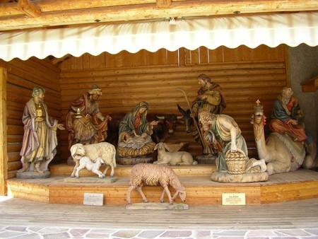 catholic christmas scene photo