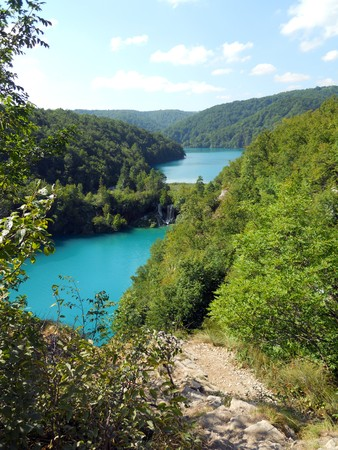 Lake of Plitvice, Croatia photo