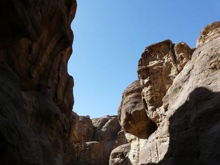 siq: The Tresury from the Siq, Petra, Jordan