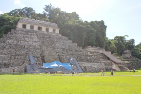 Temple of the Inscriptions, Palenque, Chiapas, Mexico photo