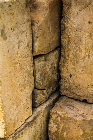 sand stone: sand stone materials overlayed in pattern Stock Photo