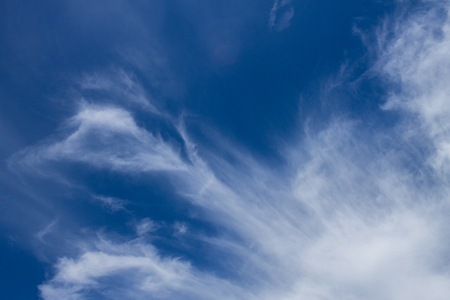 Cloudscape has developed in gorgeous form beneath the blue sky.