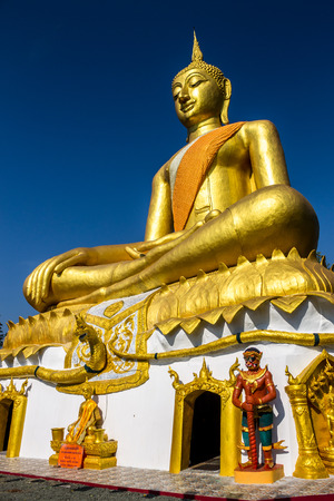 cleared: Buddha image was located on the top of a mountain in meditation form.