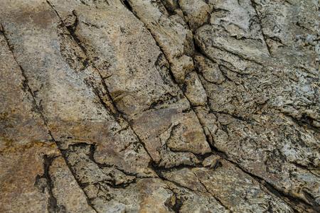 岩の形成は、クローズ アップ パターンと詳細に描かれました。