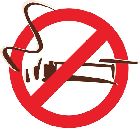 humo: Prohibido fumar
