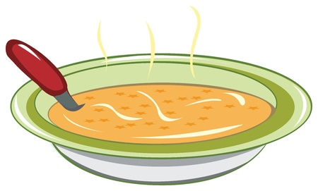 soup: Dish of soup