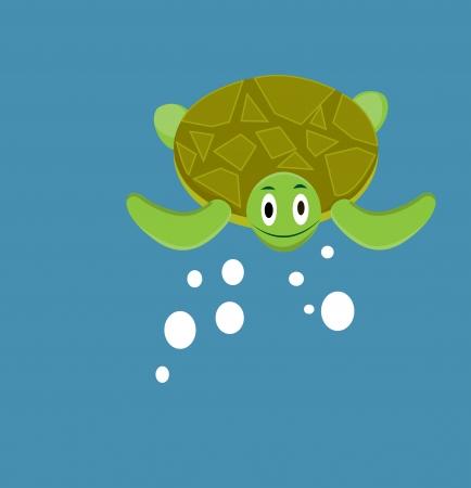 Cute turtle Illustration