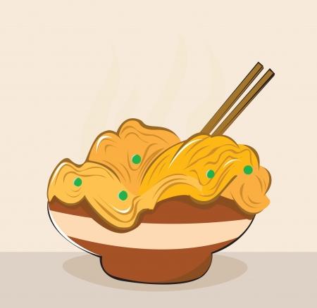 Ramen Illustration