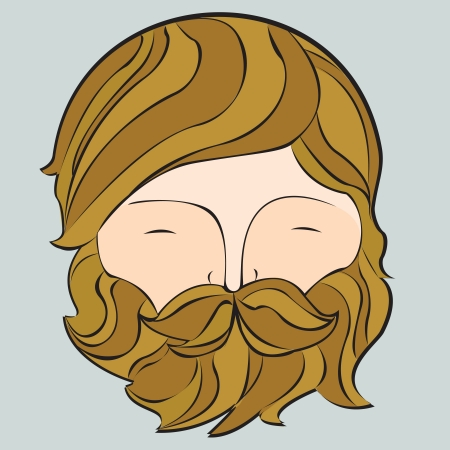 Beard Stock Vector - 22095264