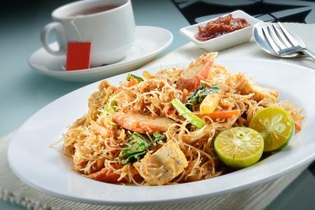 vermicelli: Penang Fried Prawn Rice Vermicelli