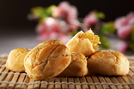 Traditional Chinese cookies pineapple tart