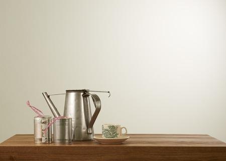 kopitiam: Nanyang style coffee set in mood lighting