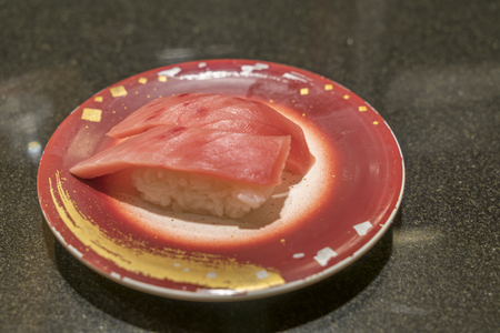expensive food: Japanese toro sushi made from blue fin tuna great and expensive food