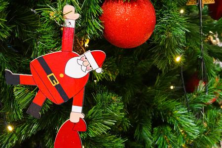 Christmas tree decoration during the festival Archivio Fotografico - 118820661