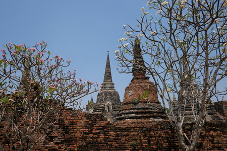 Ancient places, Ayutthaya period in Thailand