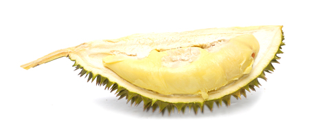 Durian isolated on white background Stock Photo