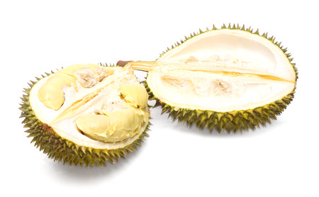 Durian isolated on white background Archivio Fotografico