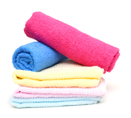 Bath towels Stockfoto