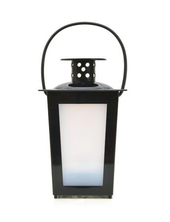 Lanterne isolé sur fond blanc Banque d'images - 98463424