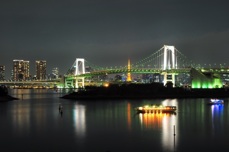 View of Tokyo Bay. Editorial