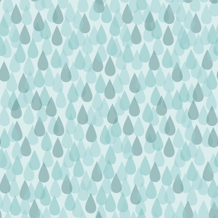 torrential rain: Seamless background with simple transparent rain drops