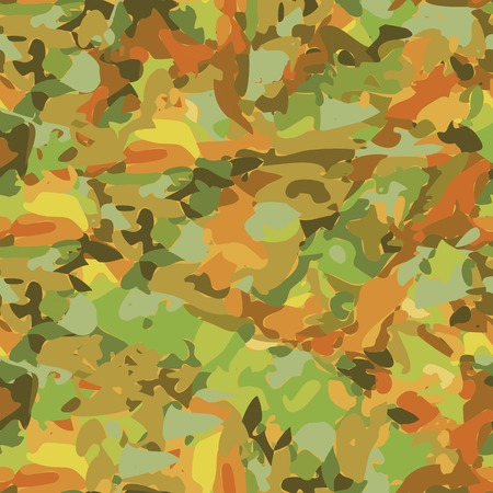 spot the difference: Seamless vector pattern with color autumn texture