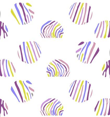 polychromatic: Seamless colorful background based on Zebra skin pattern Illustration