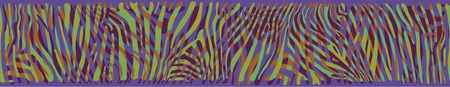 polychromatic: Horizontal seamless colorful abstract background based on Zebra skin pattern