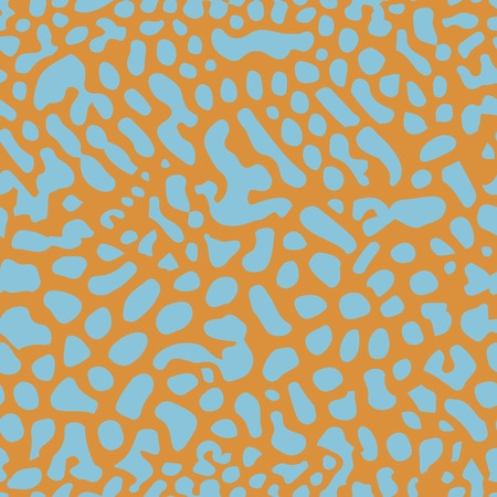 porous: Seamless pattern stylized porous structure of coral Illustration
