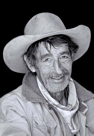 rugged cowboy Stock Photo - 5556405