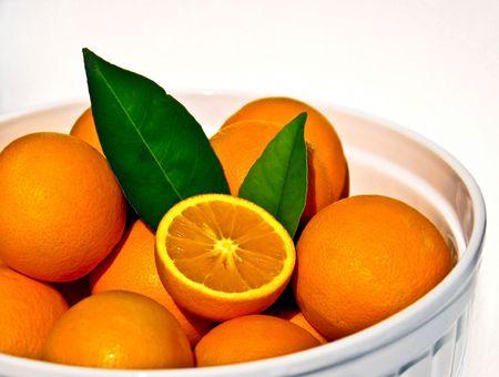 fresh oranges Imagens