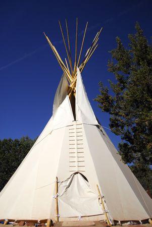 outdoor teepee tent