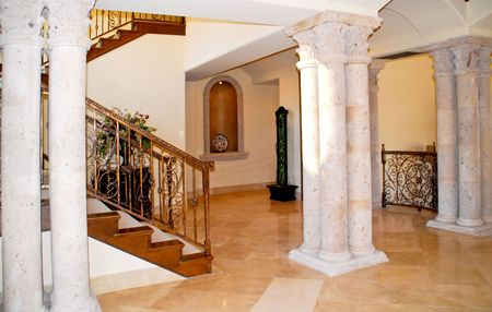 grand entrance to home