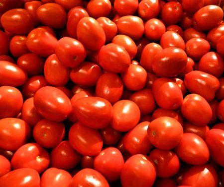 fresh ripe tomatos