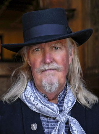 old law man from the wild west days